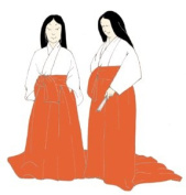 Heian Japanese Woman's Underwear (Kosode and Hakama) Pattern