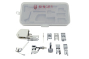 SINGER Accessory Kit, Including 9 Presser Feet, Twin Needle, and Case