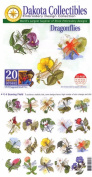 Dakota Collectibles - Dragonflies Multi Format Embroidery Designs CD - 970182