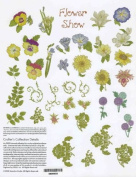 OESD Embroidery Machine Designs CD #866 FLOWER SHOW