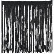 Chainette Fringe P-7045 100-Percent Polyester 15cm Fringe Embellishment, 10-Yard, 02 Black