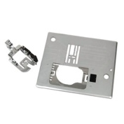 Janome Acufeed 0.6cm . Foot & Needle Plate 846-407-007