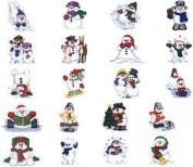 Dakota Collectibles Playful Snowmen