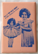 """SHIRLEY TEMPLE """"Star of WEE WILLIE WINKIE A 20th Century-Fox Picture"""" Pocket Mirror"""