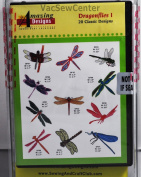 Amazing Designs Dragonflies I Embroidery CD, ADC-10TK