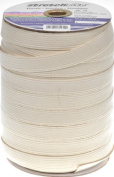 Stretchrite 3/4 by 100-Yard Natural Braided Swimwear Cotton Elastic Spool