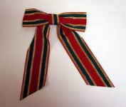 DDI - Large Fabric Christmas Ribbon