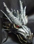 Fierce Saurian Dragon Hanging Sculpture