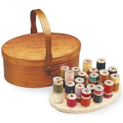 Shaker Oval Swing Handle Box with Spool Insert