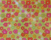 Longaberger 5 Yards of Factory Sealed Uncut Fabric - Posey Patch!