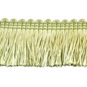 Brushed Fringe Polyester Brushed Fringe, 3.8cm , Green