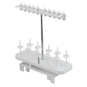 Brother SA560 Embroidery Machine 10 Spool Thread Stand