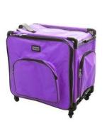 Tutto 50cm Purple Serger Bag on Wheels