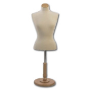 Female Blouse Form Tailor Bust, Neckblock and Base Included