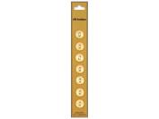 Dill 2 Hole Buttons 1.1cm . Pale Peach 7pc.