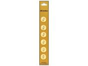 Dill 2 Hole Buttons 1.4cm . Pale Peach 6pc.