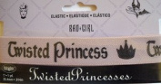 Disney Twisted Princess Elastic w Crown 2.5cm Wrights