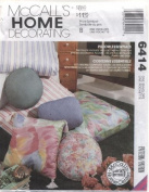 McCall's Home Decorating Pillow Essentials Sewing Pattern #6414