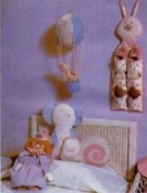 VINTAGE McCall's Pattern #7763 ONE SIZE ***CHILDREN'S ACCESSORY CRAFT PACKAGE W/BLUE TRANSFER FOR EMBROIDERY***