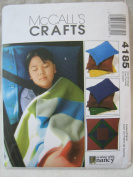 McCall's Crafts Pattern 4185 - Cosy Lap Quilt and Pillow Cases