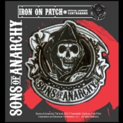 Sons of Anarchy Reaper Circular Iron on Patch