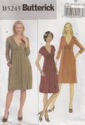 Butterick B5245, Misses' Dress, Size F5(16-24), OOP