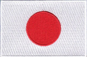 Japan Embroidered Country Flag Patch
