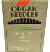 Organ Sewing Machine Needles 135x17-90