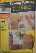 Simplicity 4936 Quilted Bags Sewing Patterns