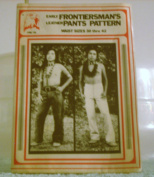 Early Frontiersman's Leather Pants Pattern
