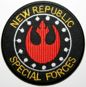 Star Wars 7.5x7.5 Cm New Republic Special Forces Crew Uniform Costume Embroidered Iron on or Sew on Patch By Luk99
