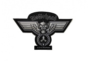 Motorhead Chained Warpig Die Cut Rock Music Band Woven Applique Patch