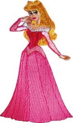 Sleeping Beauty Princess In Ball Dress Embroidered Iron on Disney Movie Patch DS-59