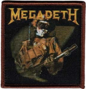 MEGADETH So What Soldier Rock Band Patch
