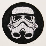 IMPERIAL STORM TROOPER - Star Wars 7.6cm Movie Embroidered iron-on/sew-on patch