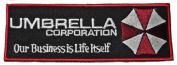 """RESIDENT EVIL Umbrella Corp """"Our Business is Life Itself"""" Embroidered PATCH"""