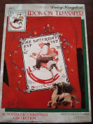 GIDDY-UP GRAMPA - SATURDAY EVENING POST COVER - CHRISTMAS - DAISY KINGDOM IRON-ON TRANSFER #6135