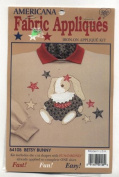 Betsy Bunny Iron-On Fabric Applique Kit