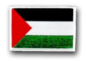 FLAG OF PALESTINE 3½ SHOULDER PATCH