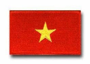 "FLAG OF VIETNAM 3½"" SHOULDER PATCH"