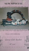 GOOSE GIRL BASKET - 120cm OVAL - GOOSE GIRL COLLECTION - SEW SPECIAL SEWING PATTERN