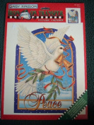 PEACE - IRON ON TRANSFER FROM DAISY KINGDOM 22cm X 29cm CHRISTMAS AND BEYOND
