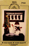 SNOWMAN & MITTEN WALL HANGING SEWING PATTERN by Fabric Expressions