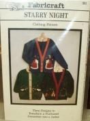 Starry Night - Sweatshirt Jacket Applique Patterns