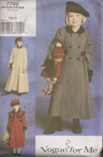 Vogue V7792, Girl's Coat, Size 4-6