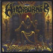 WITCHBURNER-BLOODTHIRSTY EYES-SUBLIMATION PATCH