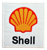 Shell gas stations Oils Formula 1 F1 Racing Shirts Label Embroidered Iron or Sew on Patch by Twinkle Lable