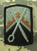 16th Sustainment Brigade ACU Patch - Foliage Green