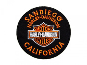 Harley Davidson Sandiego Califonia iron on patch great gift for Men and Women/Ramakian