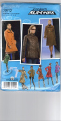 Misses Lined Coat & Jacket Size 14-16-18-20-22 Simplicity Project Runway Pattern 2812